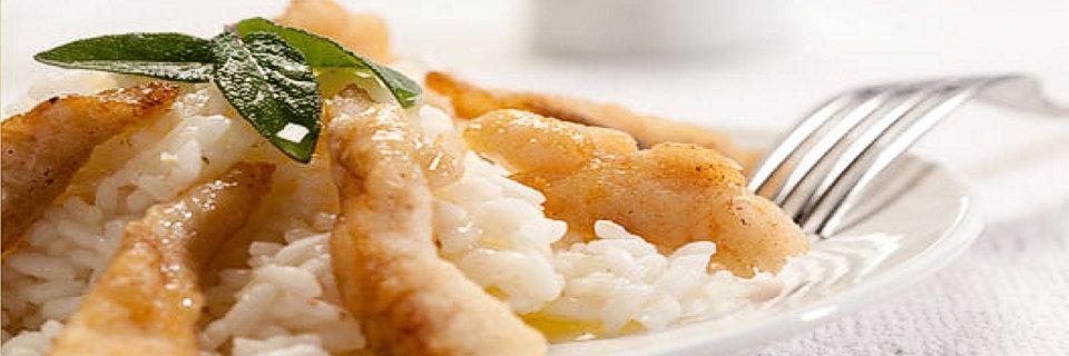 Riso con pesce persico domaso lake como for Pesce chicco di riso